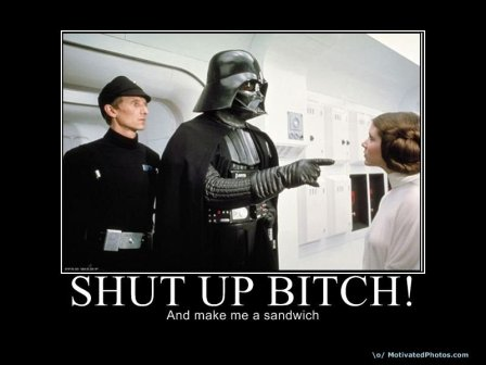 Darth Vadar Stfu